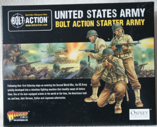 Warlord Games 28mm WGB-START-03 American 1000 Point Starter Army